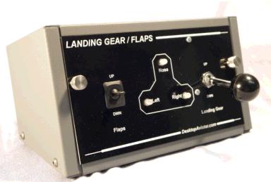 The Desktop Aviator - Programming the Model 2460 Landing Gear Panel